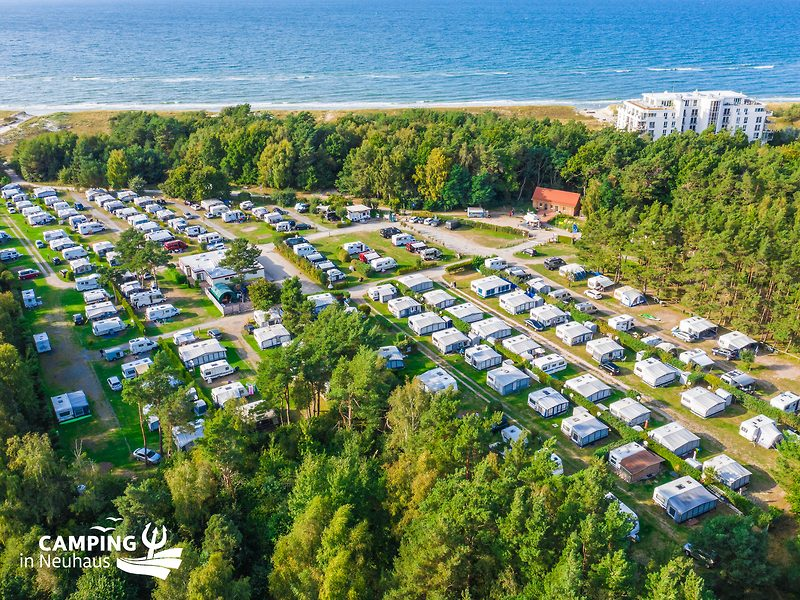 Camping in Neuhaus and the baltic sea