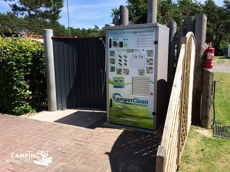 Unsere CamperClean Station